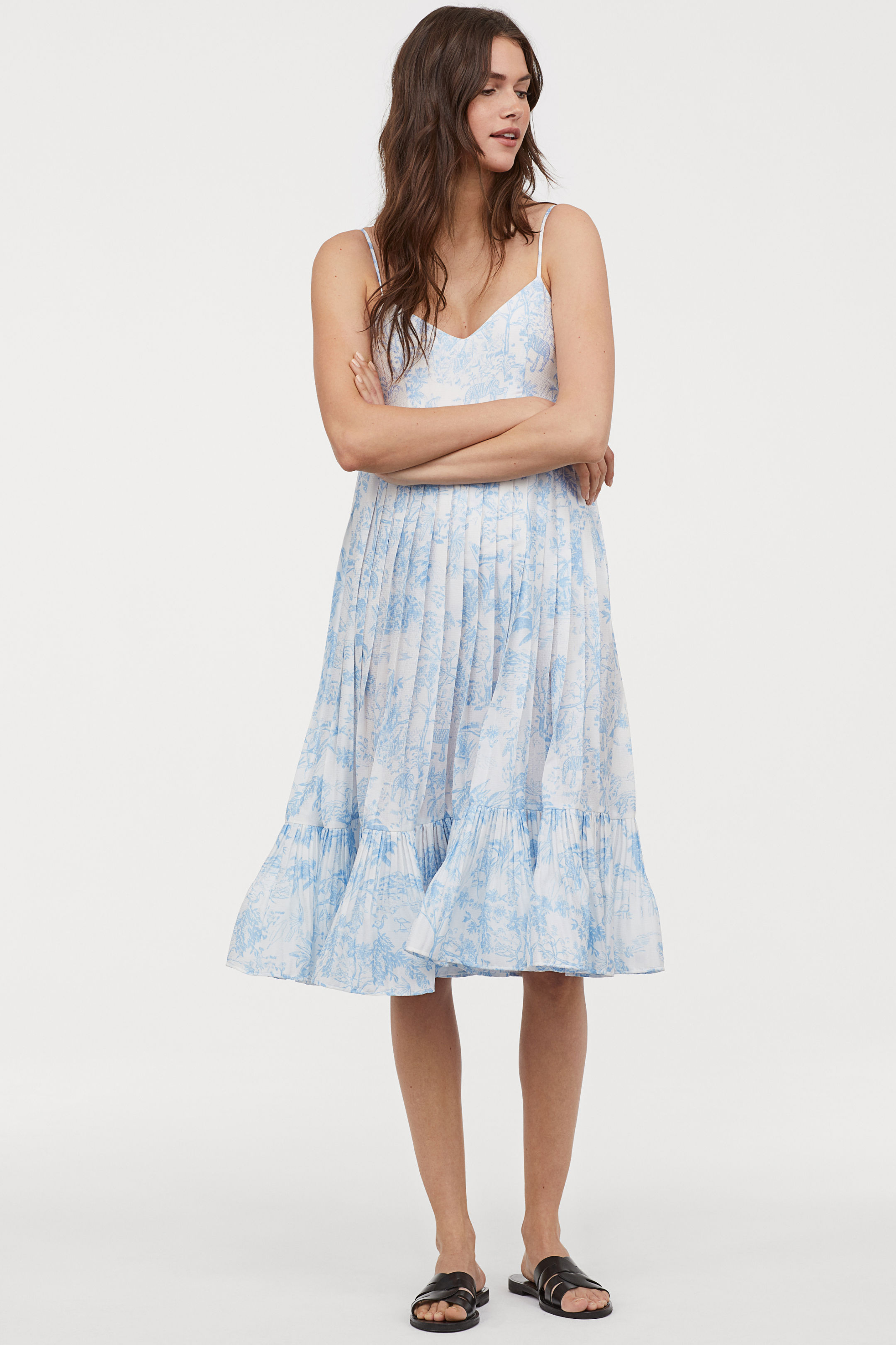 HM Pleated Dress