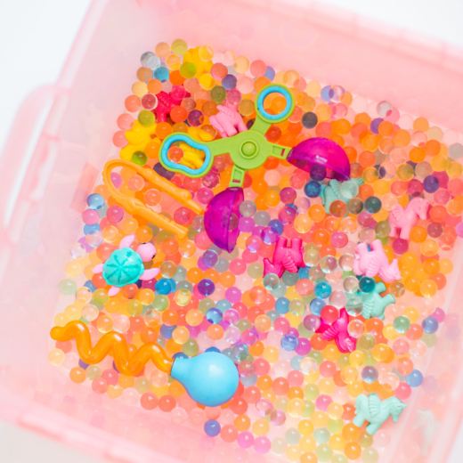 The Best Water Beads Sensory Bin + Our Favorite Water Bead Accessories