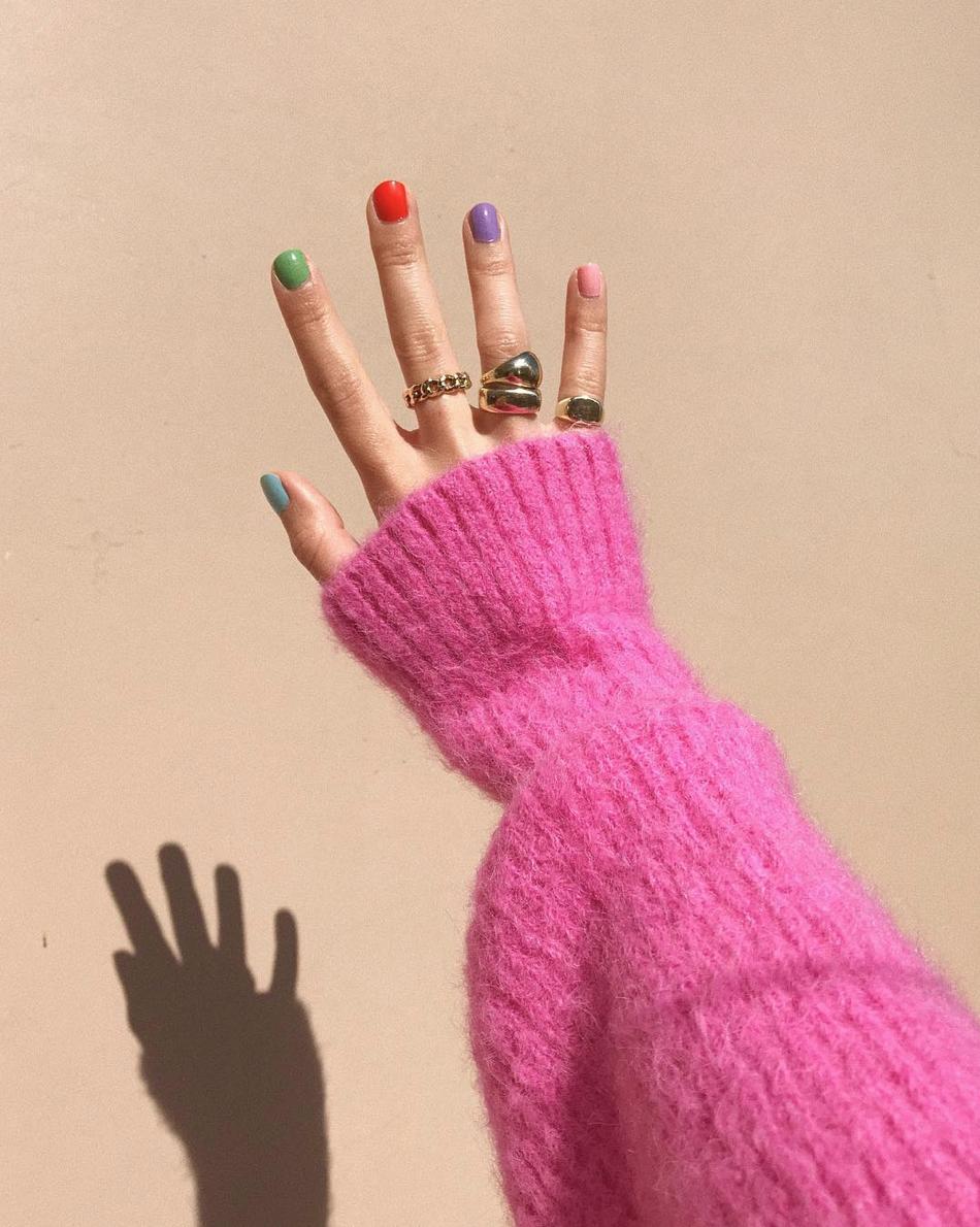 Pro Gradient Colorful Nails