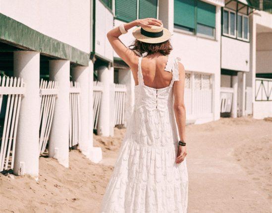 Amazon Rattan Bag | Sézane Elia Dress