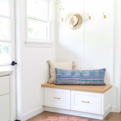 Sunburst Rug in an Entryway + Other Weekly Finds