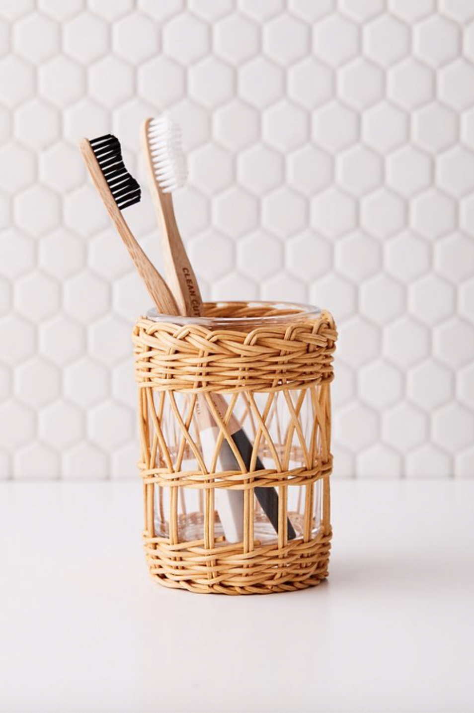 Urban Outfitters Woven Toothbrush Holder