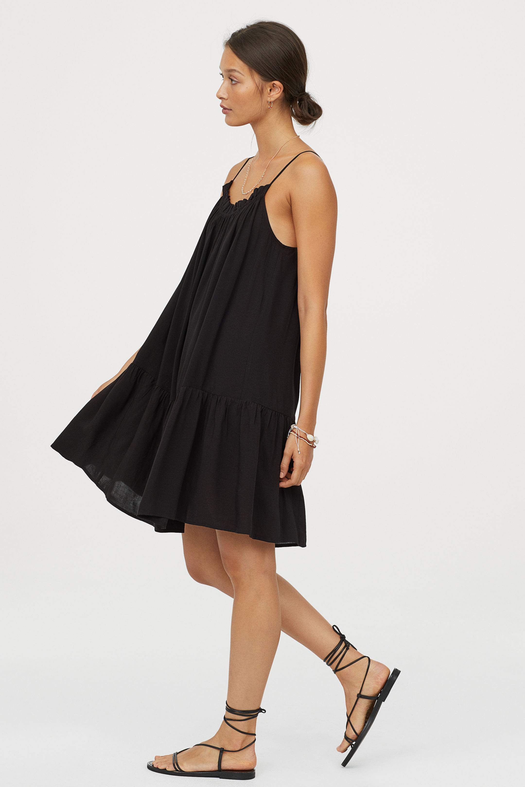 H&M Ruffled Dress