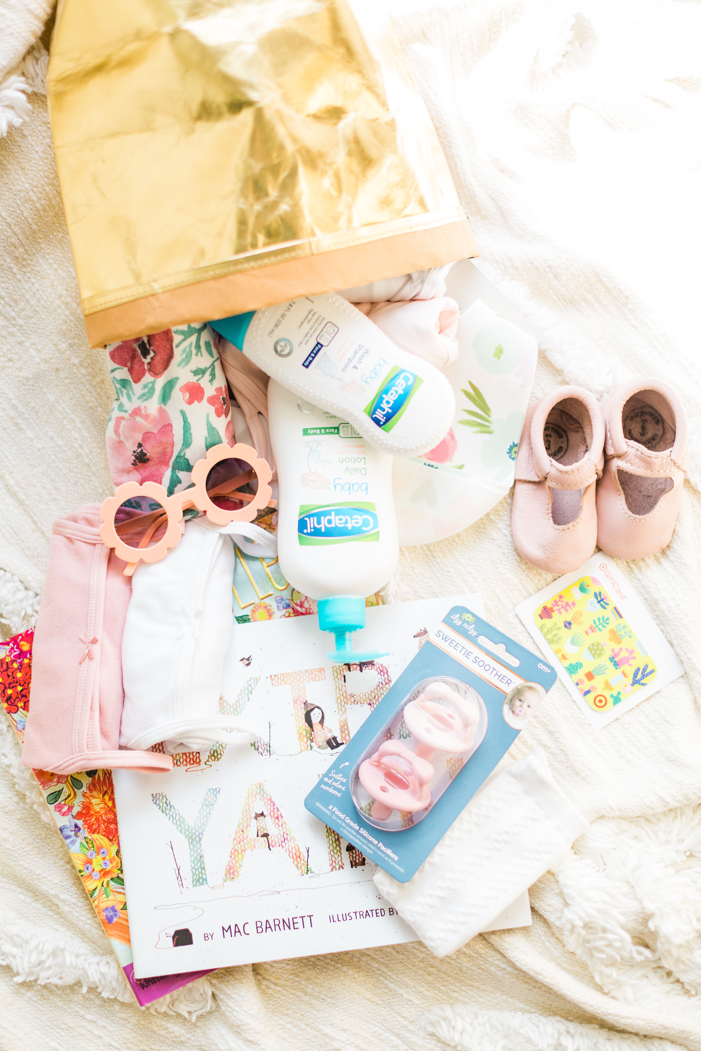 How To Put Together The Cutest Diy Baby Shower Gift Basket