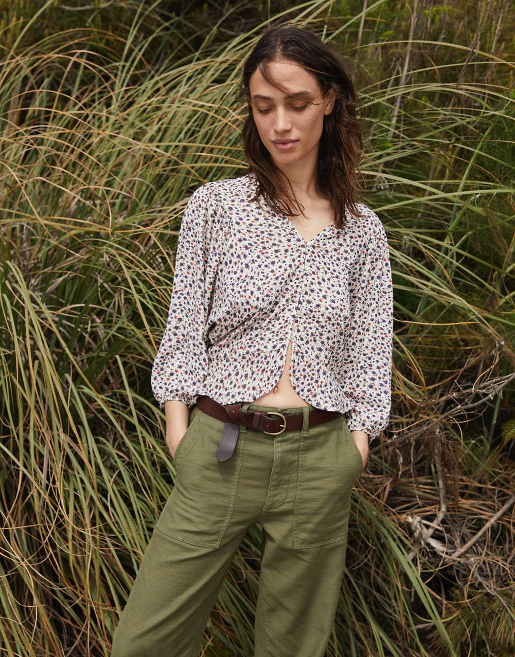 Madewell x Christy Dawn Exclusive Collaboration - floral top