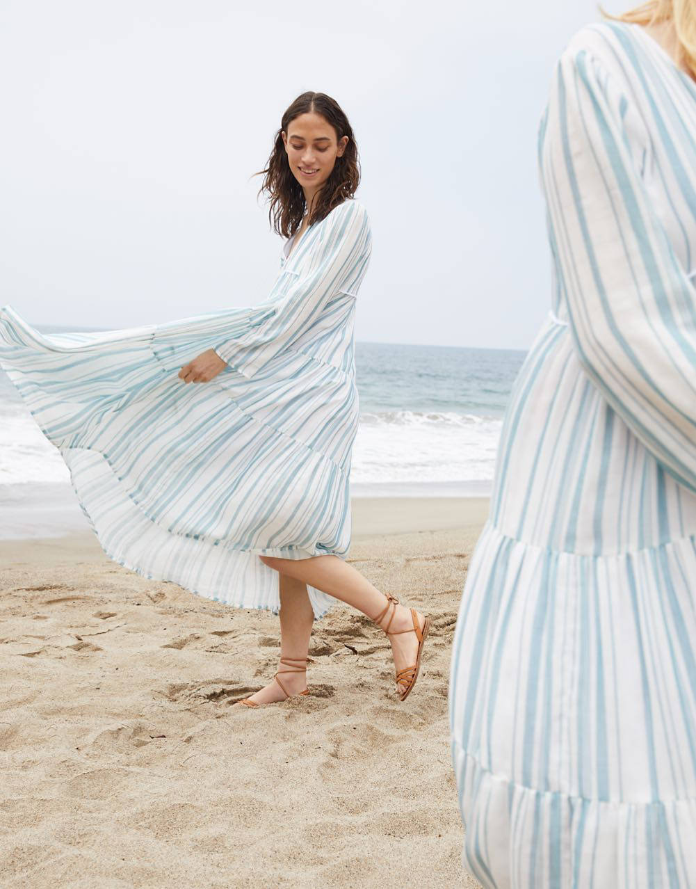 Madewell x Christy Dawn Exclusive Collaboration - striped dress