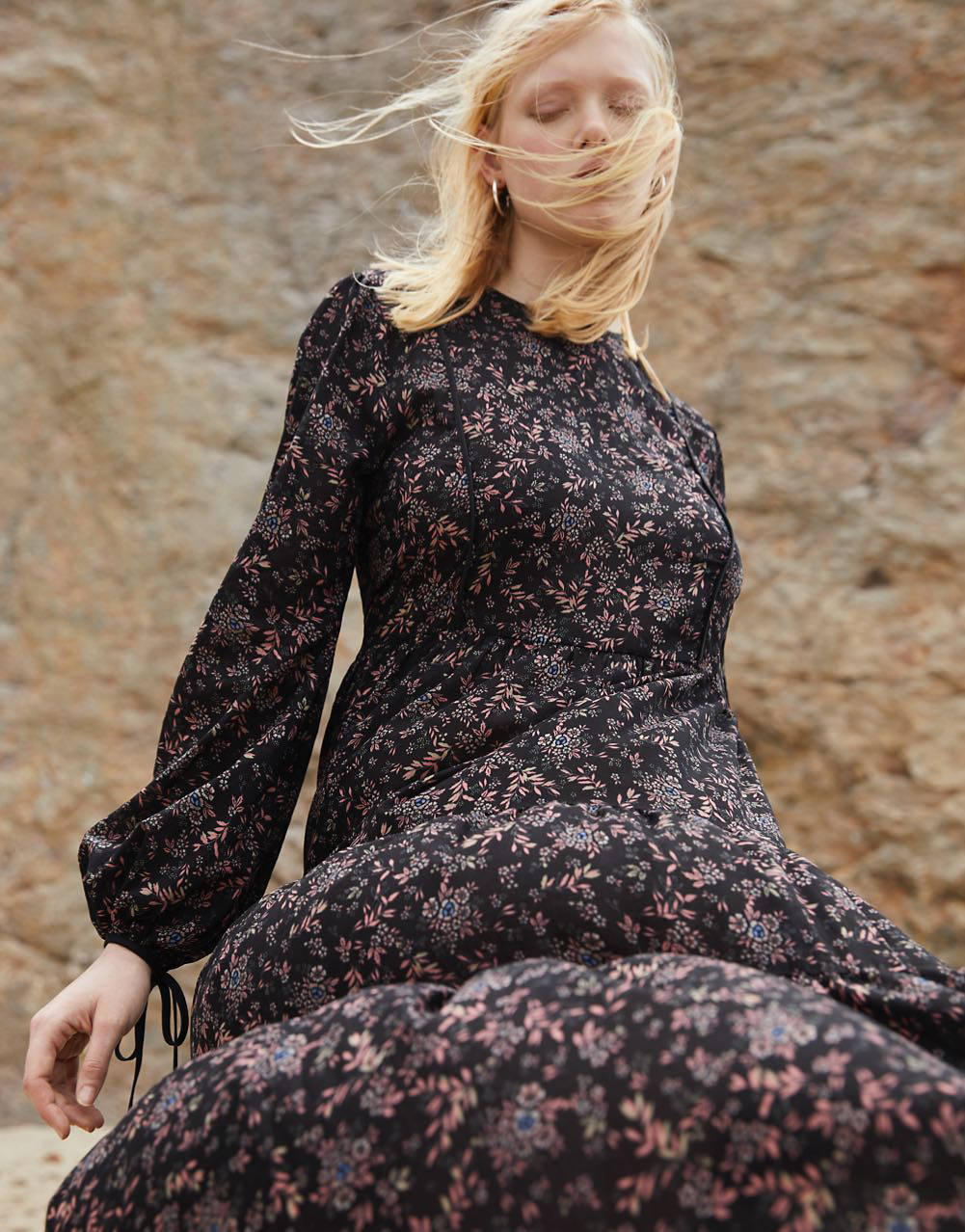 Madewell x Christy Dawn Exclusive Collaboration - black dress