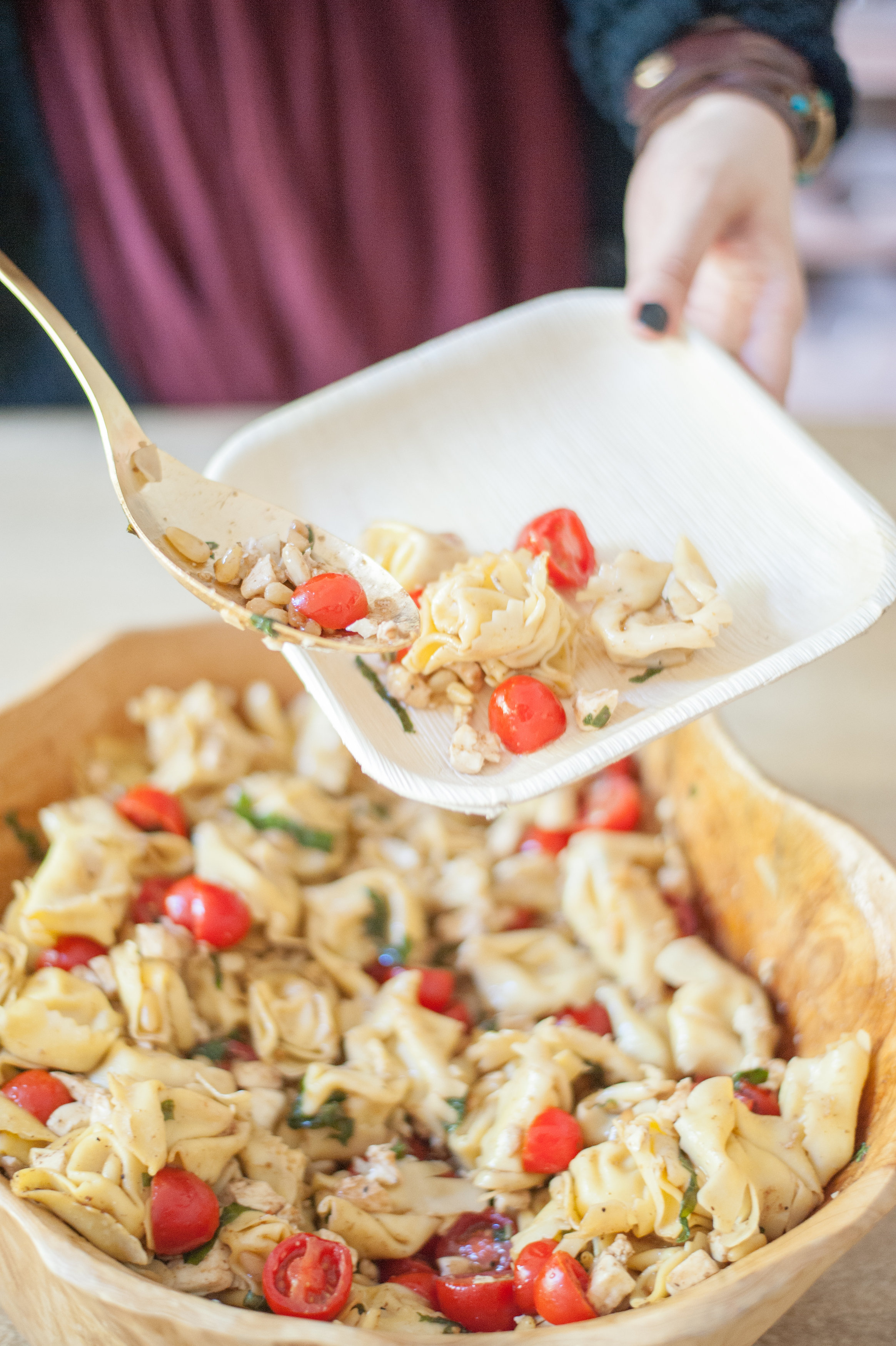 Lunch Ideas Your Kids Will Love, Caprese Tortellini Salad