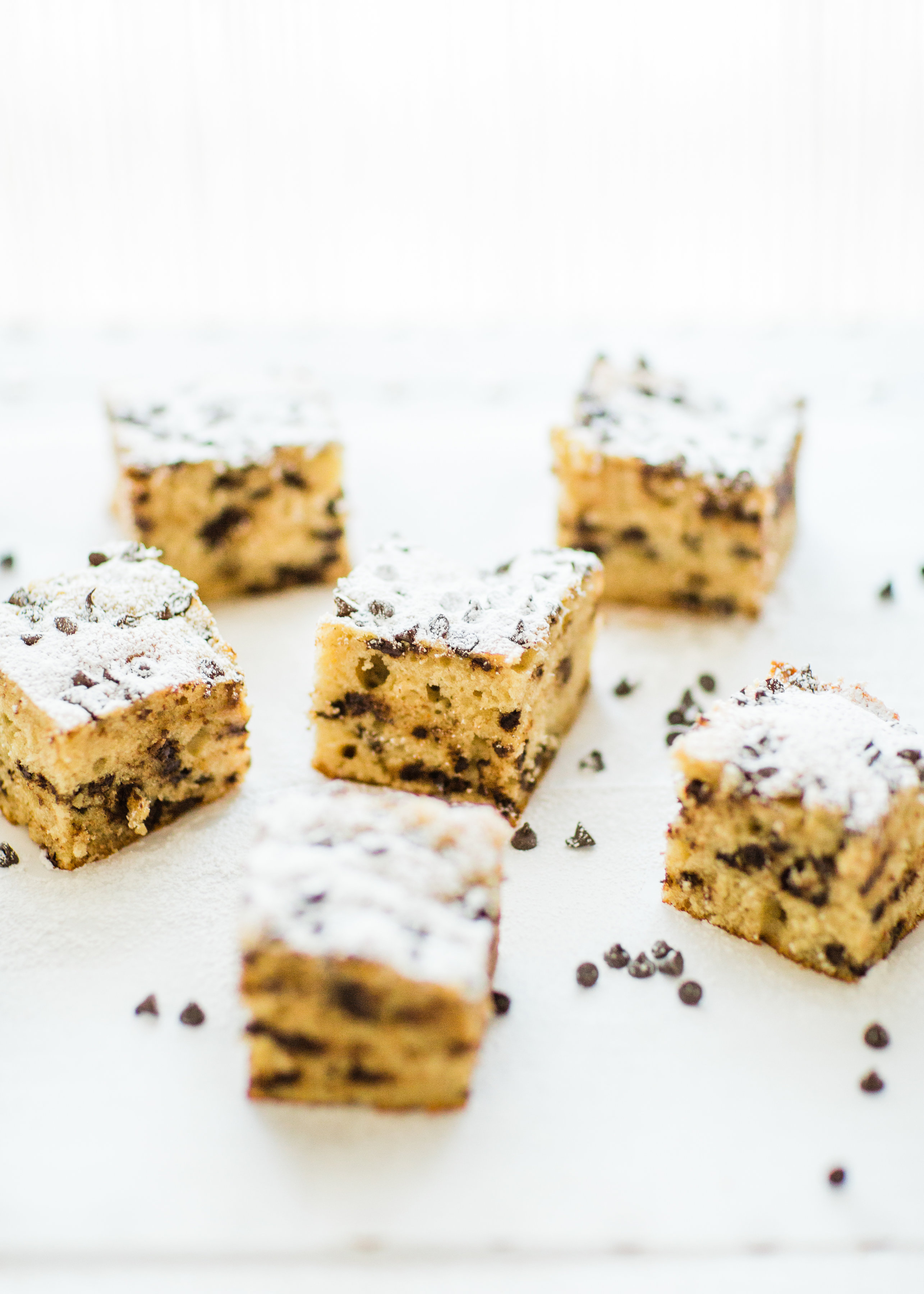 Chocolate Chip Snack Cake, lunch and snack idea kids love