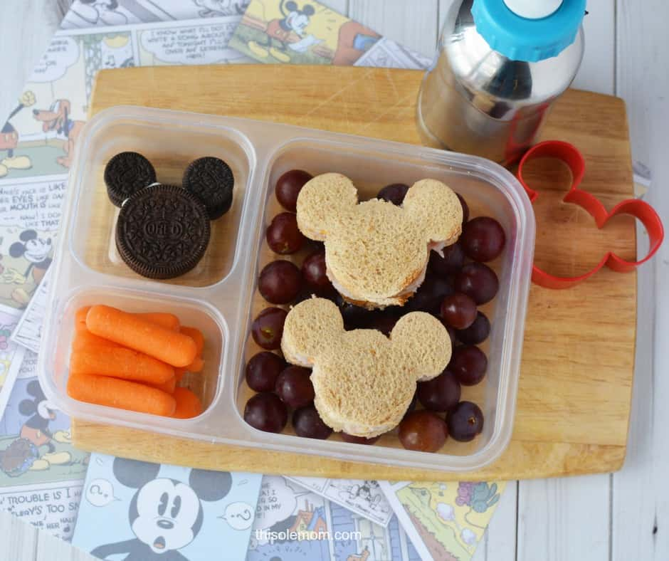 Mickey Mouse Snack Lunch