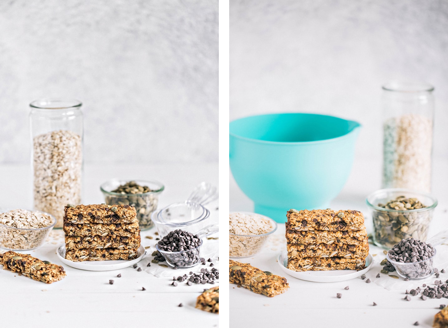 Pumpkin Chai Chocolate Chip Granola snack bars