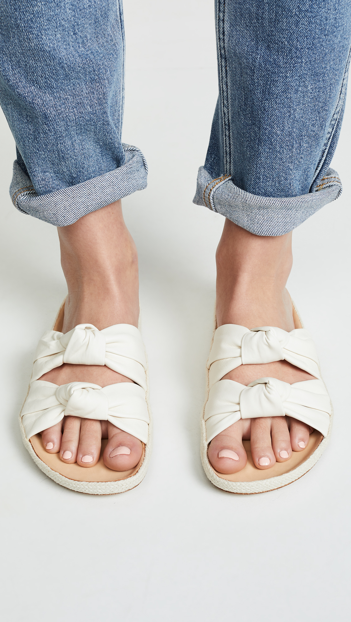 Soludos Knotted Summer Slide Sandals, not Perfectly Feminine Sneakers but still beautiful!
