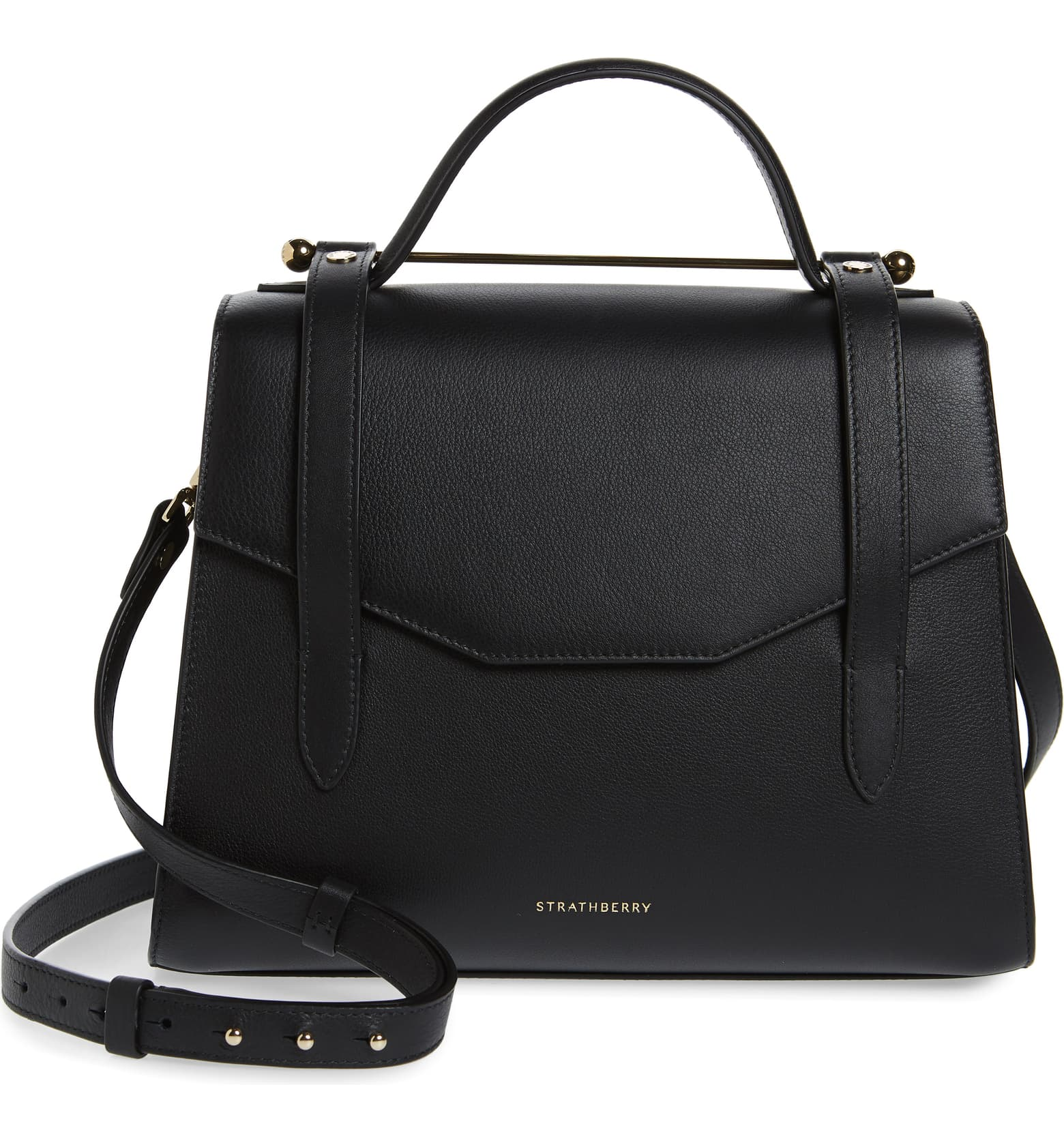Strathberry Midi Allegro Calfskin Leather Satchel, favorite weekly finds