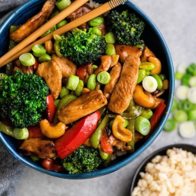 Easy and Delicious Weeknight Dinner Recipes for Busy Parents, Cashew Chicken Stir Fry