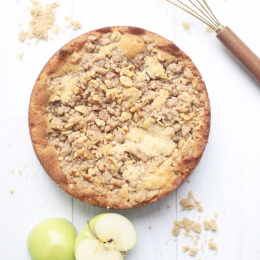 Classic Apple Crumb Cake