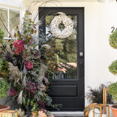 How to Create a Beautiful and Welcoming Fall Front Porch