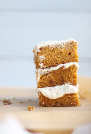 Gluten Free Pumpkin Sheet Cake with Cream Cheese Frosting 4 – glitterinc.com
