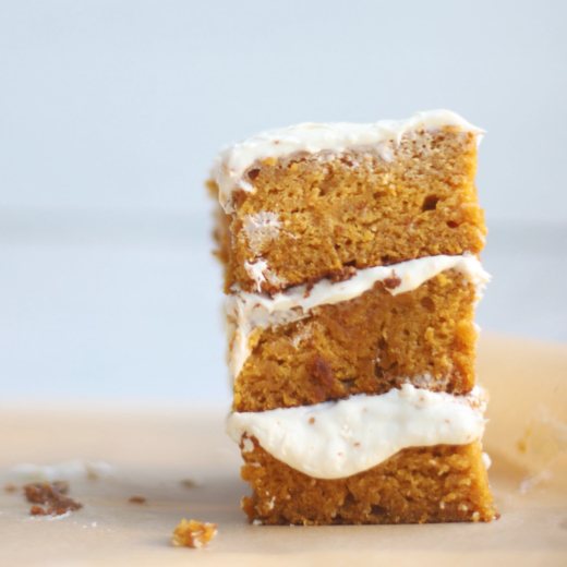 The Most Incredible Gluten-Free Pumpkin Sheet Cake with Cream Cheese Frosting