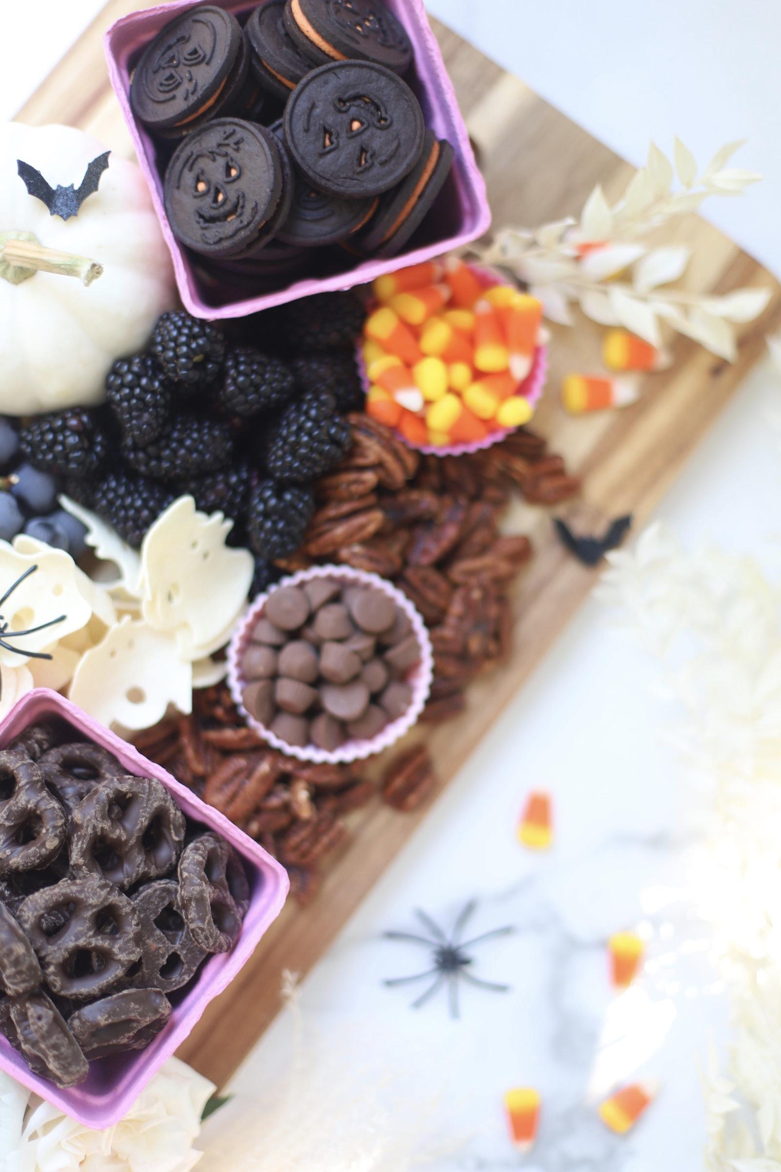 Halloween Charcuterie Snack Board