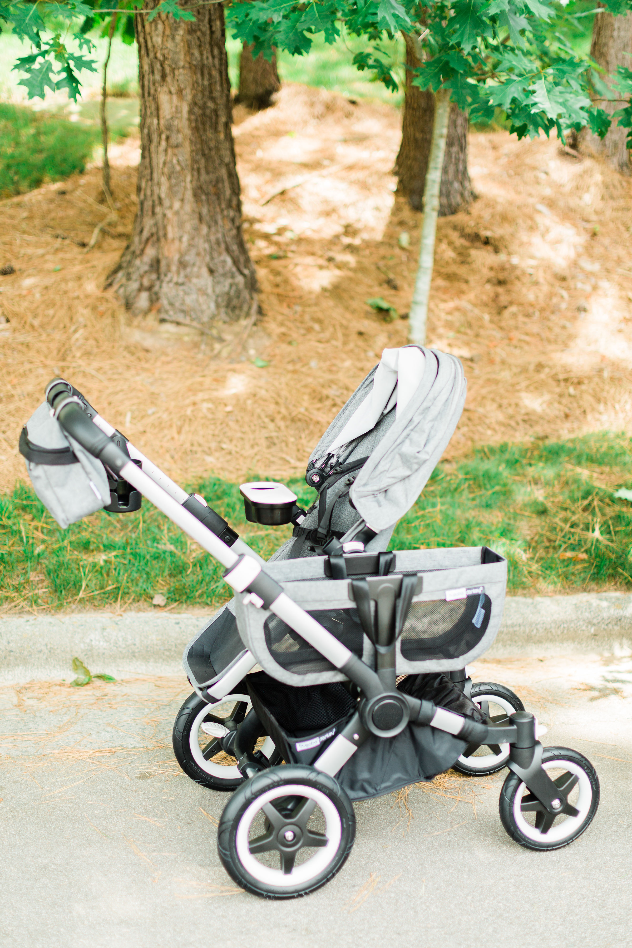 stroller can now accommodate 50 pounds per seat