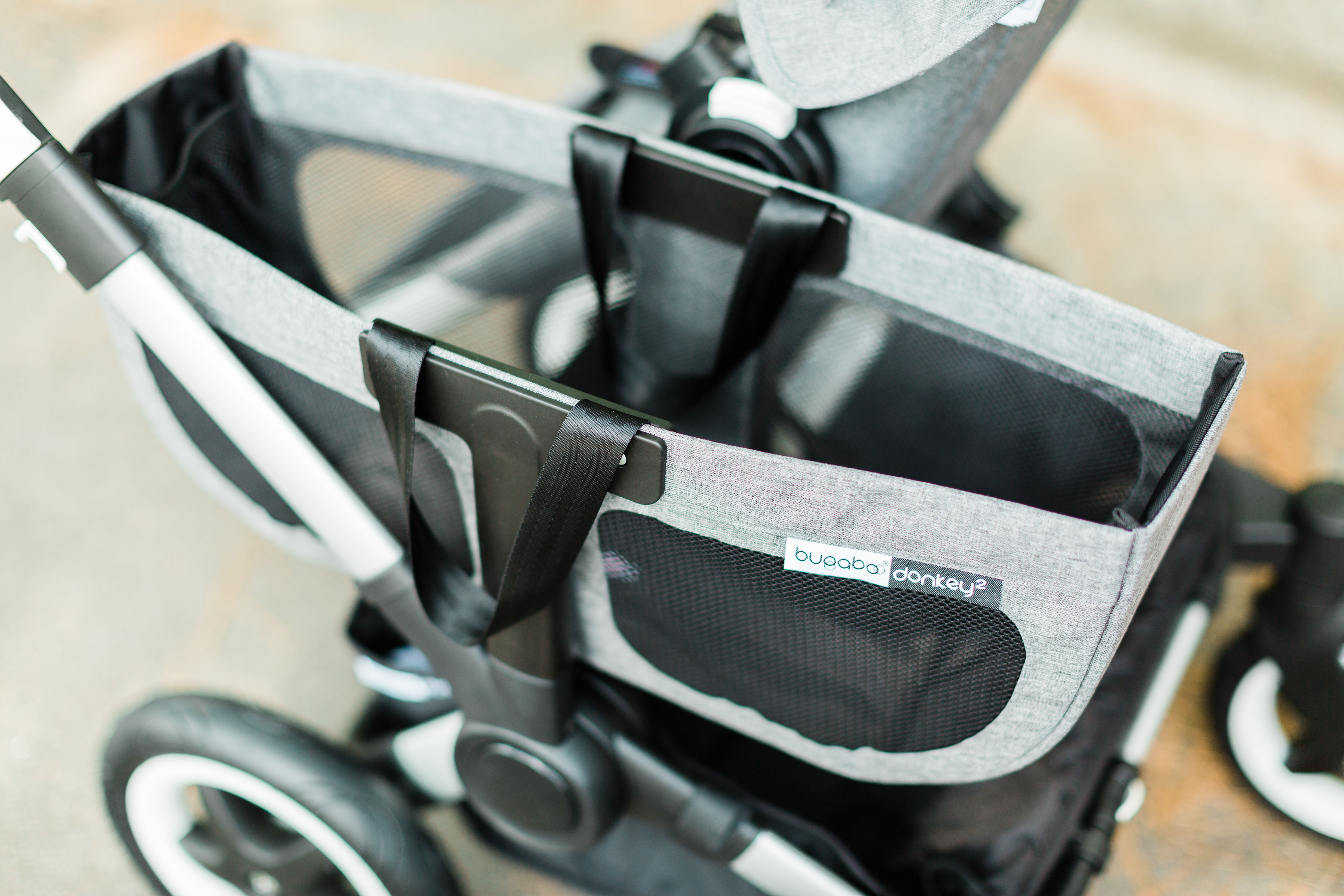 A detailed look at the all new 2019 Bugaboo Donkey2 + that can now accommodate 50 pounds per seat, plus a review of the stroller in Mono and Duo mode with the Comfort Wheeled Board plus our favorite accessories. | glitterinc.com | @glitterinc