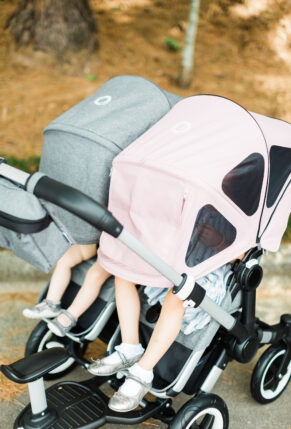 Our Review of the All New Bugaboo Donkey2 + Stroller – Bugaboo Donkey 2 Duo – Comfort Wheeled Riding Board – glitterinc.comGlitterIncBlog-9391