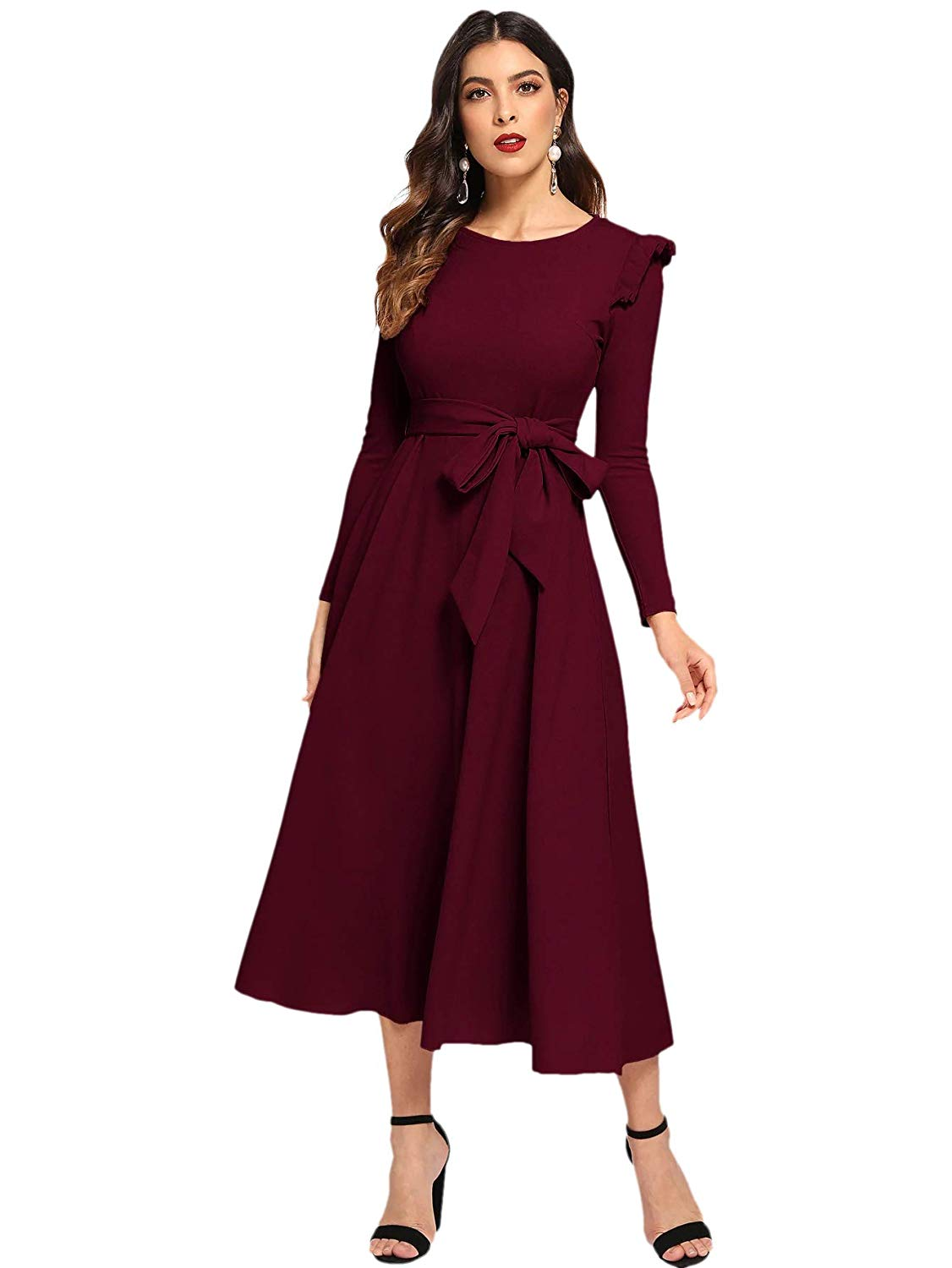 15 Stylish Dresses From Amazon Belted Dress