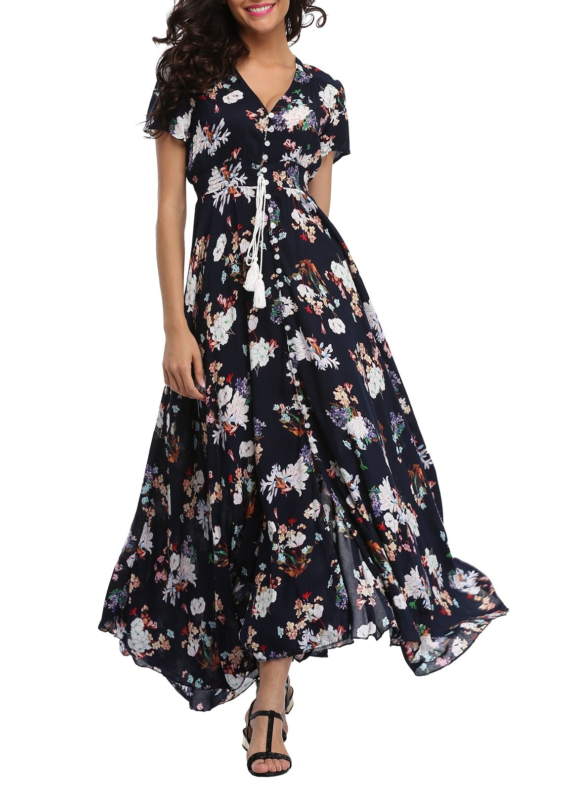 15 Stylish Dresses From Amazon Floral Maxi Dresses