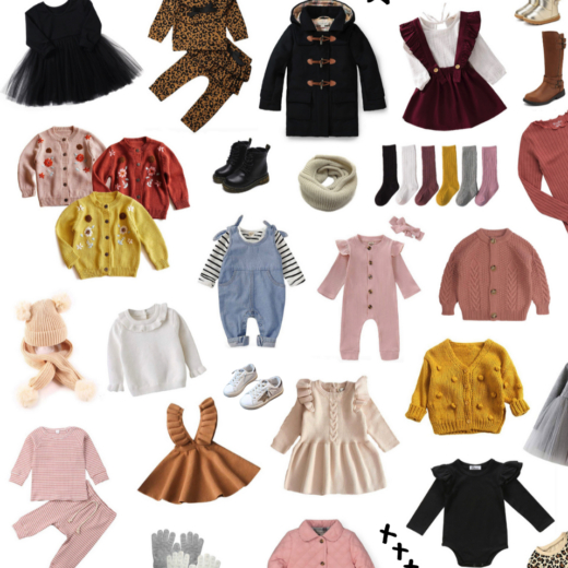 50+ Adorable Fall and Winter Amazon Outfits for Girls