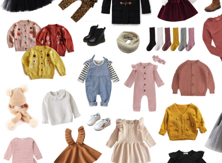 Amazon Outfits for Baby, Toddler, and Little Girls - Fall and Winter Edition - Affordable Kids Affordable Fashion on Amazon - GLITTERINC.COM