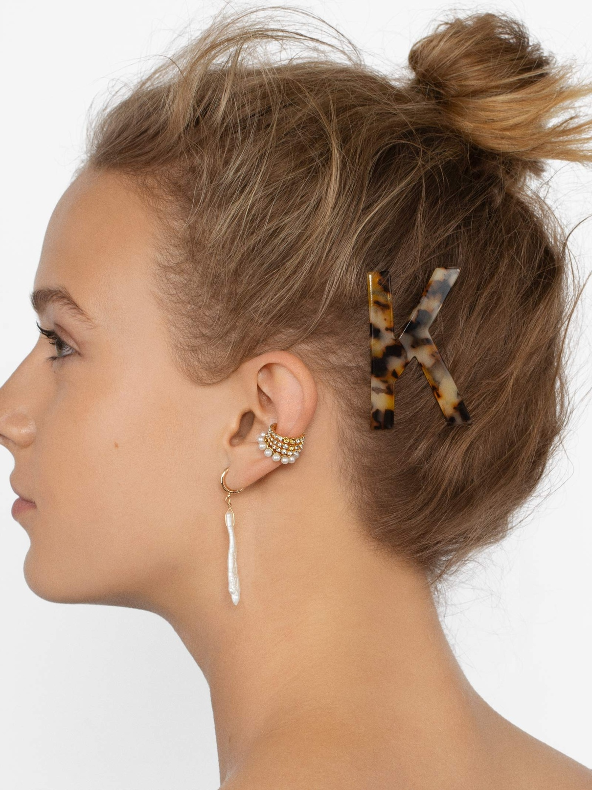 WEEKLY FINDS // Baublebar Tortoise Initial Hair Pin