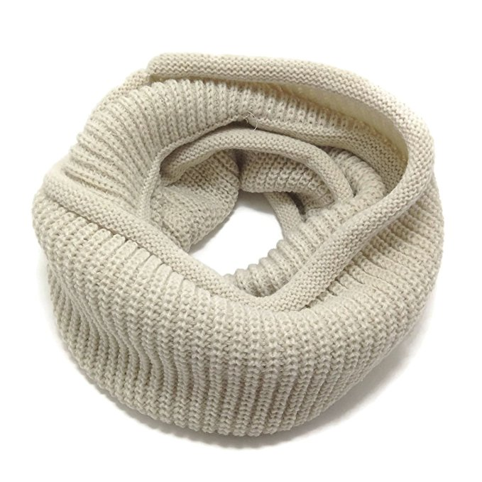 HappyTree Kids Fashion Thick Knitted Warm Infinity Scarf, $12.99