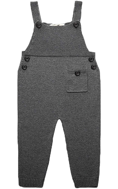 Kids Baby Toddler Girl Knit Romper Cotton Jumpsuit