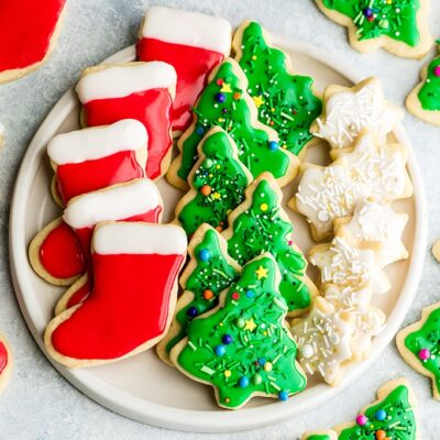 Best Cut Out Sugar Cookie Recipe - Christmas Cookies