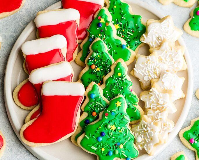 Best Cut Out Sugar Cookie Recipe - Christmas Cookies