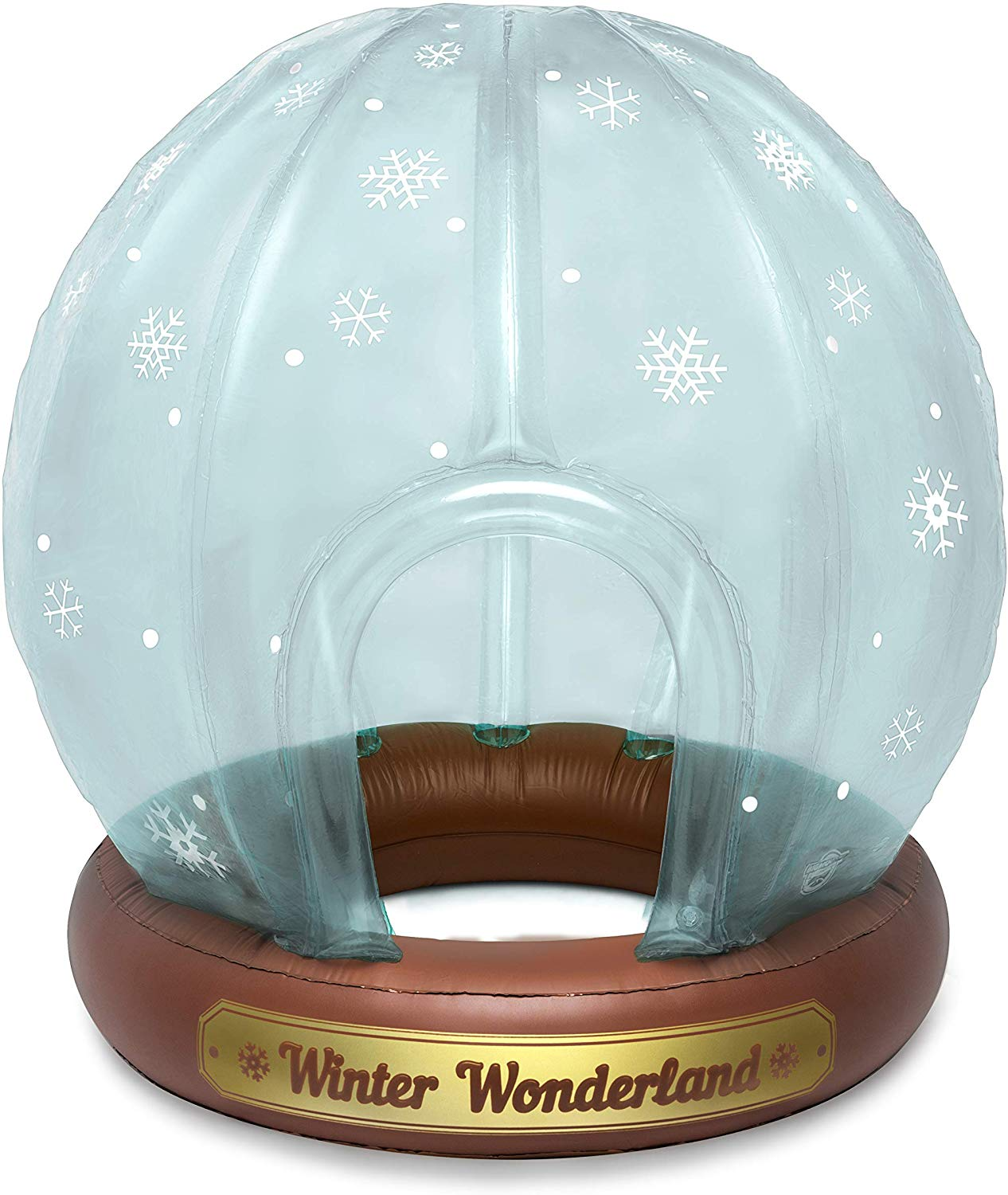 BigMouth Inc. Giant Inflatable Snow Globe Winter Fort