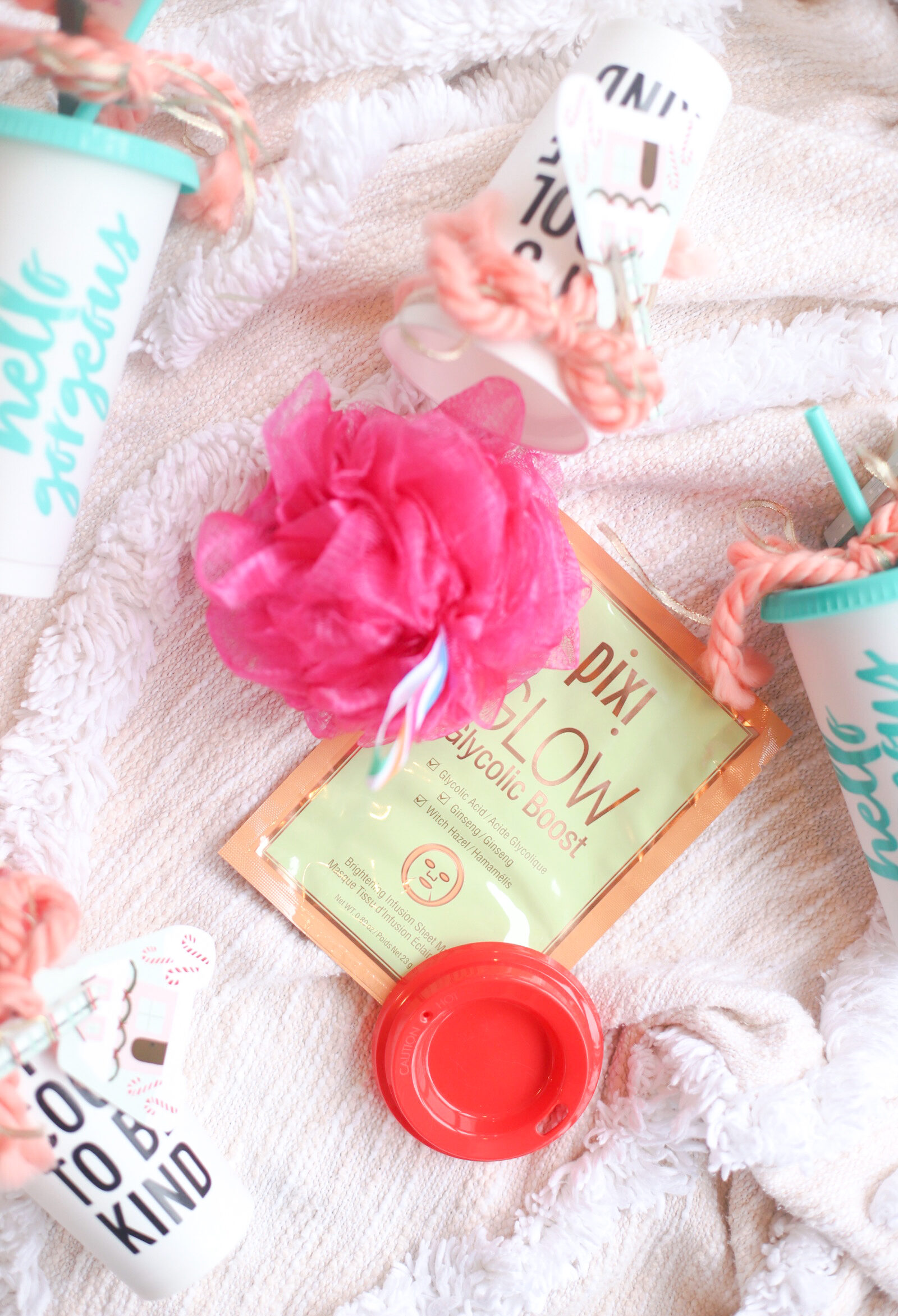 Make an extra special and thoughtful homemade gift for your child's favorite teacher, instructor, coach, etc., and all for under $5! This DIY pampering in a cup gift will be an instant hit.   glitterinc.com   @glitterinc