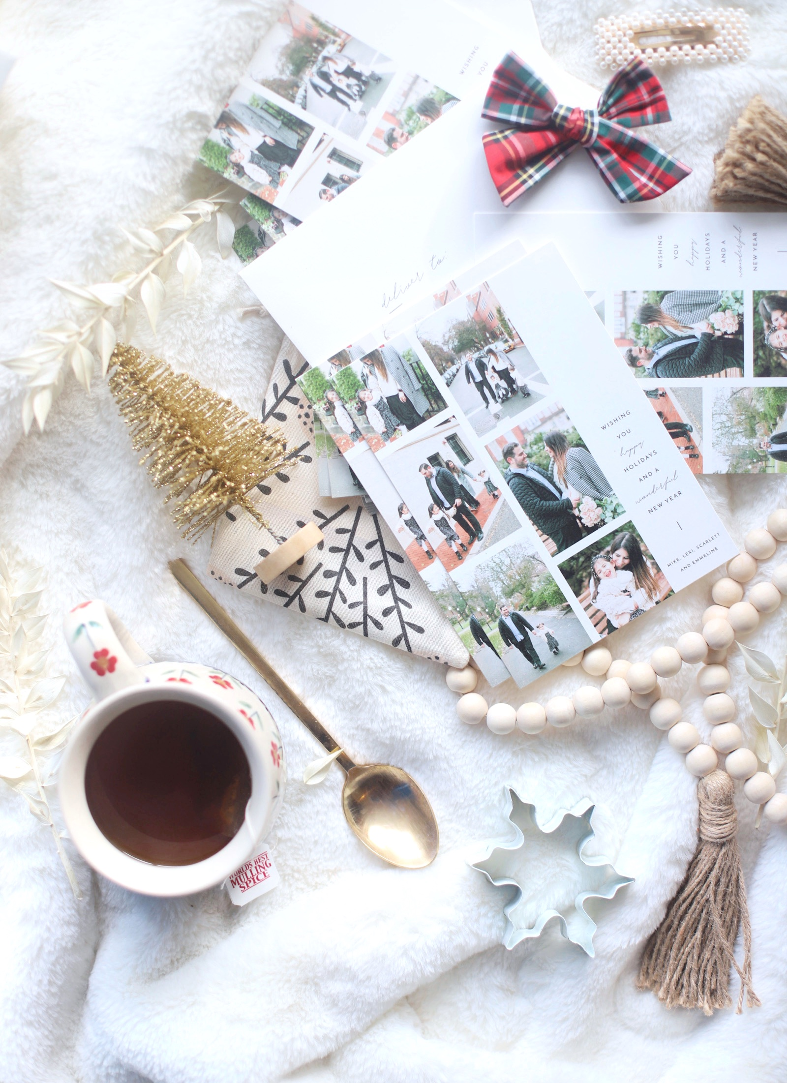 I'm sharing a look at our holiday cards, and a million good reasons to take those family photos. | glitterinc.com | @glitterinc