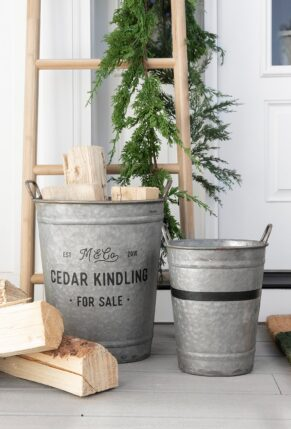MCGEE AND CO EVERGREEN BUCKET