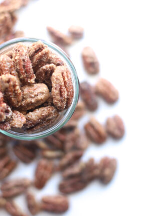 The Most Amazing Candied Pecans for the Holidays – How to Make Candied Cinnamon Roasted Nuts – GLITTERINC.COM – IMG_0371