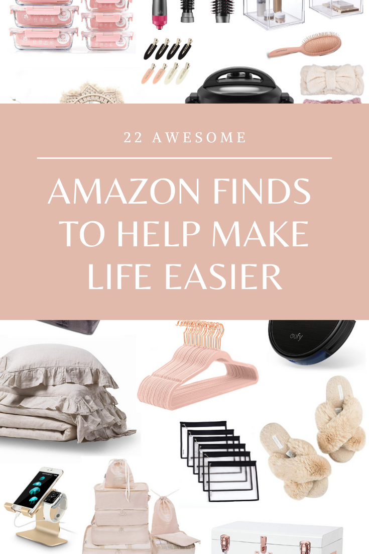 22 Awesome Amazon Finds to Help Make Life Easier - It is time to simplify! Here are 22 of the most ridiculously useful items to make life a whole lot easier, more streamlined, and organized, all found on Amazon. | glitterinc.com | @glitterinc
