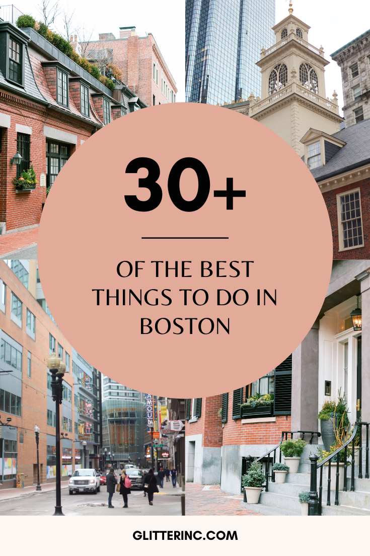 Visiting Boston? These are the must see and cannot miss sights and attractions in Boston, including the best parks, museums, shopping, historic sites, and places to eat throughout the city! | glitterinc.com | @glitterinc