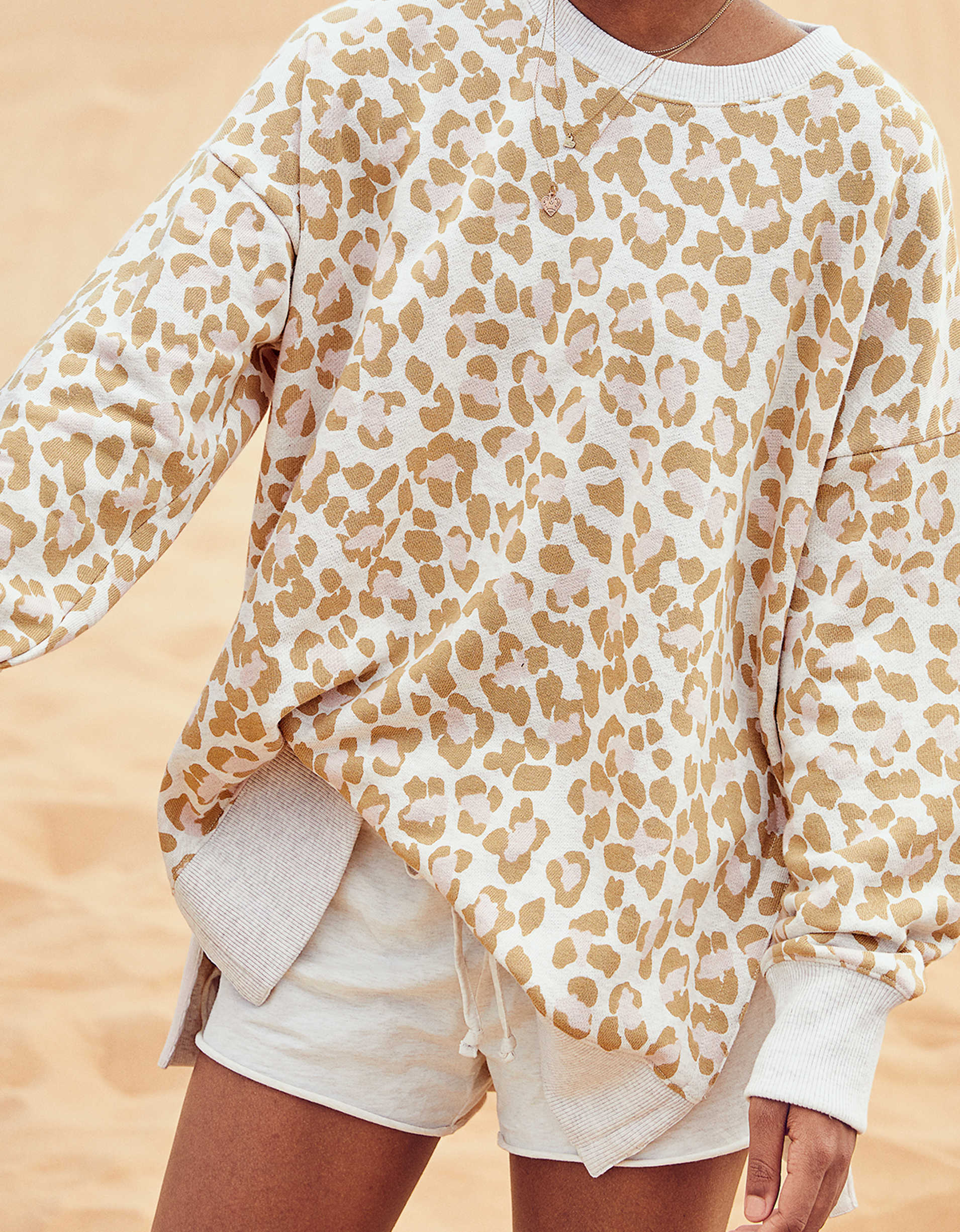 Aerie Oversized Desert Sweatshirt, 12 Adorably Chic Sweatshirts You'll Want In Your Closet