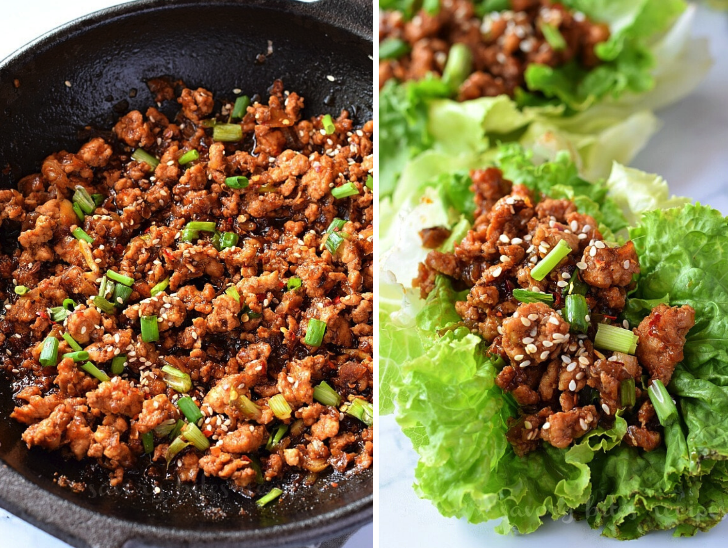 Asian Chicken Lettuce Wraps Quick and Healthy Dinner Recipes