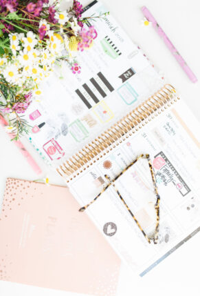 How I Plan and Stay Organized with my Erin Condren LifePlanner