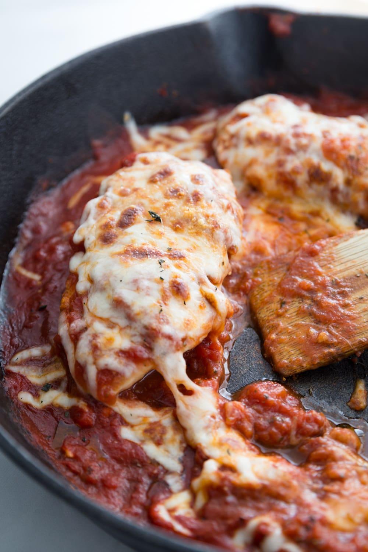 Italian Chicken Skillet Quick and Healthy Dinner Recipes