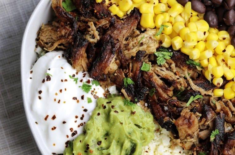 Ninja Foodi Pressure Cooker Crispy Pork Tenderloin Carnitas Quick and Healthy Dinner Recipes