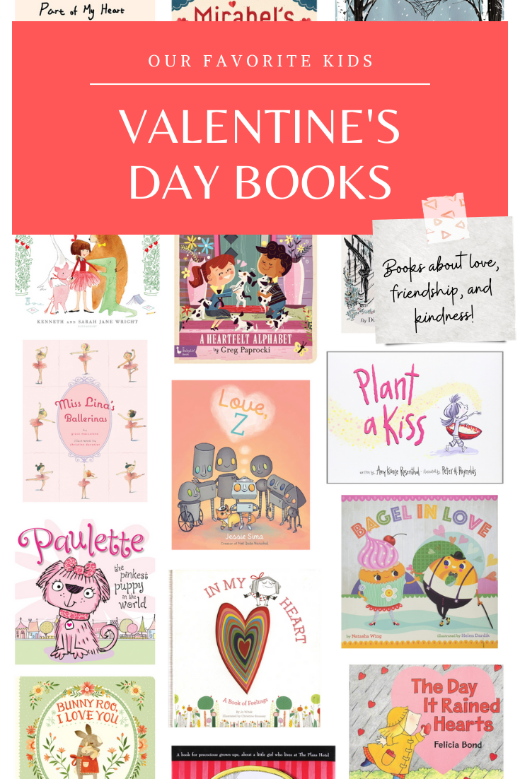 Celebrate the month of love with our favorite kids books for Valentine's Day! These adorable books are fun for the whole family and are the perfect books to read aloud to your preschoolers and elementary schoolers! | glitterinc.com | @glitterinc