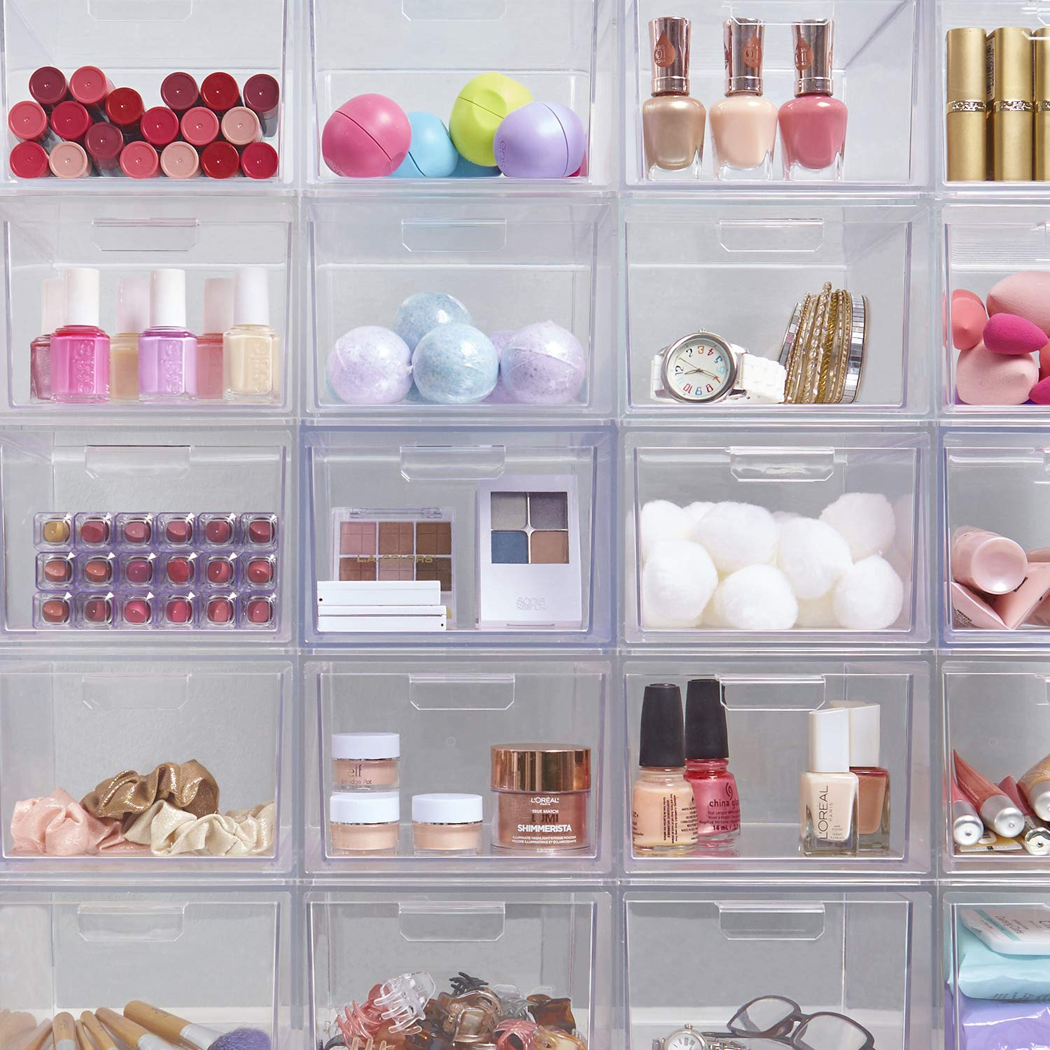Stackable Cosmetic Organizer Drawers Sizes - 22 Awesome Amazon Finds to Help Make Life Easier