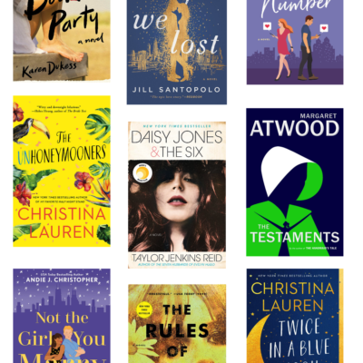 9 Must Read Books - Recently Read and Loved - GLITTERINC.COM